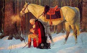 Washington Praying at Valley Forge