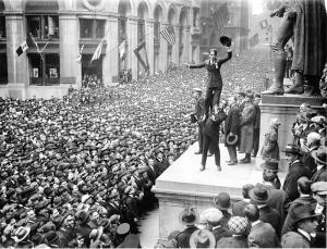 Wall Street Celebration