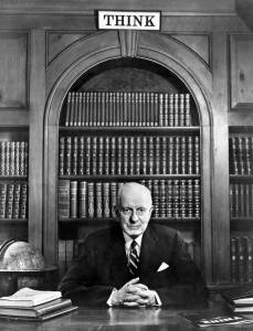 Watson, Thomas J Think-1935