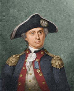 Engraved Portrait Of John Paul Jones