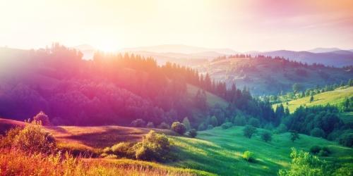 autumn hills europe twitter post size Carpathian Ukraine shutterstock_40214963