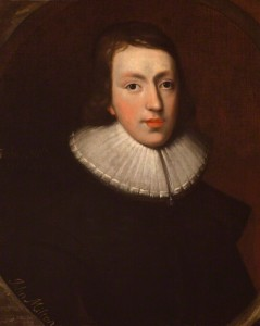 NPG 4222; John Milton by Unknown artist