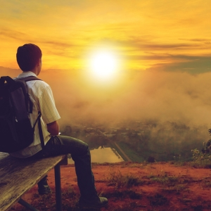 young man on bench instag sz shutterstock_752827510