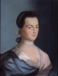 Adams, Abigail, port by Benjamin Blyth 1766