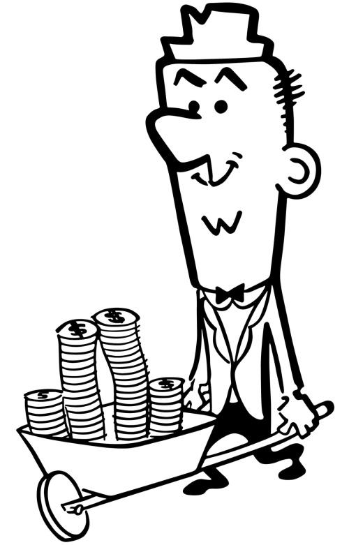 Wheelbarrow Full Of Cash