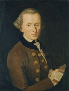 Kant, Immanuel, by Johann Gottlieb Becker, 1768, pd