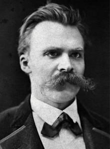 Nietzsche, Friedrich, 1875, by Friedrich Hartmann, pd