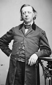 Beecher, Henry Ward, by Mathew Brady, pd